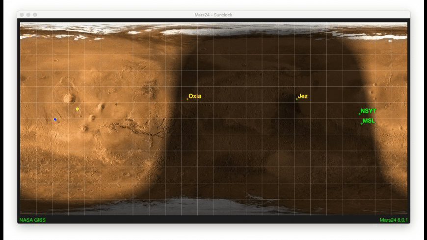 Mars24 for Mac - review, screenshots
