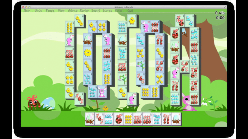 Mahjong In Poculis for Mac - review, screenshots