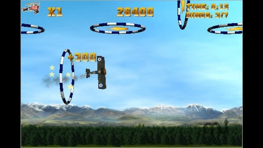 Allied Aces: Stunt Pilot for Mac - review, screenshots