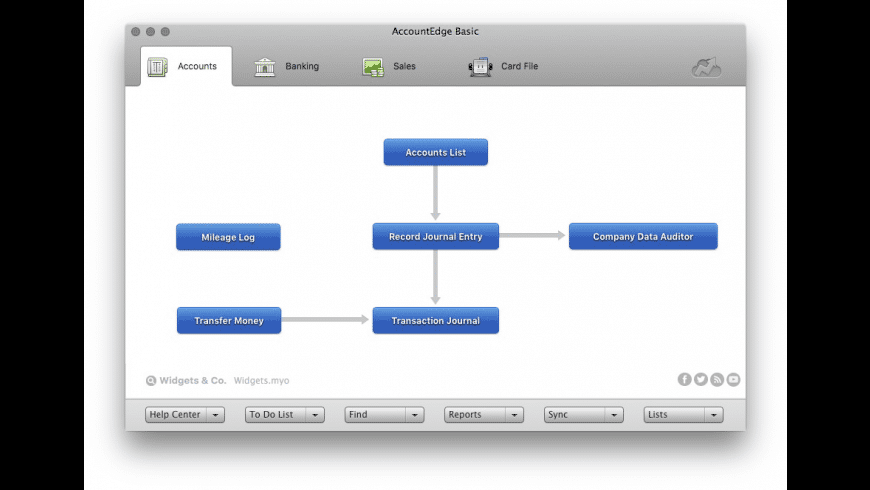 AccountEdge Basic for Mac - review, screenshots