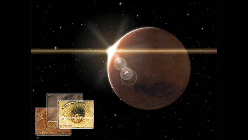Mars 3D Space Survey Screensaver for Mac - review, screenshots