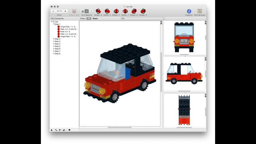 Bricksmith for Mac - review, screenshots