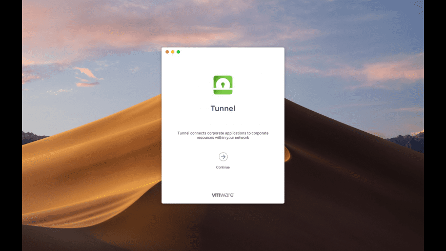 Tunnel - Workspace ONE for Mac - review, screenshots