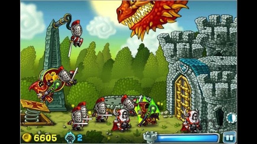 Knights Onrush for Mac - review, screenshots