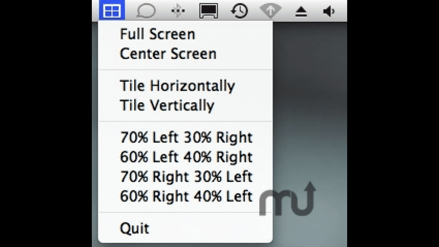 Window Tiles for Mac - review, screenshots
