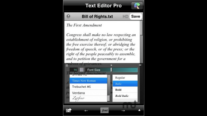 Text Editor Pro for Mac - review, screenshots