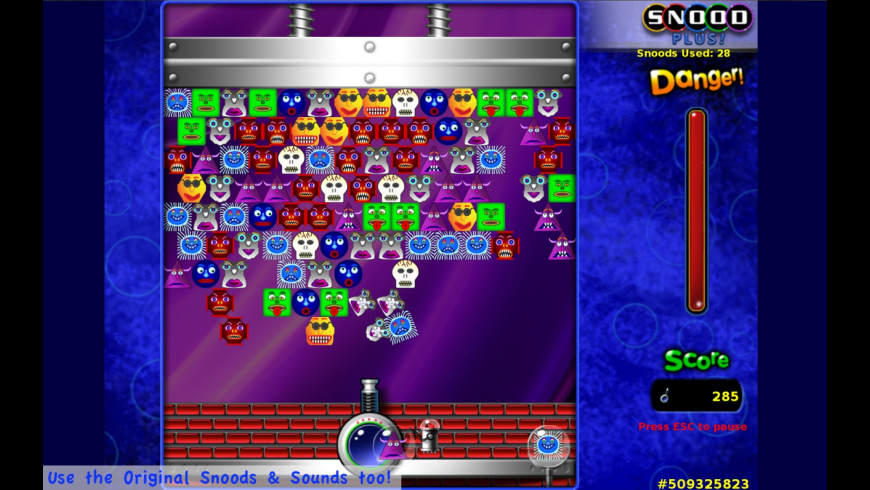 Snood Plus for Mac - review, screenshots