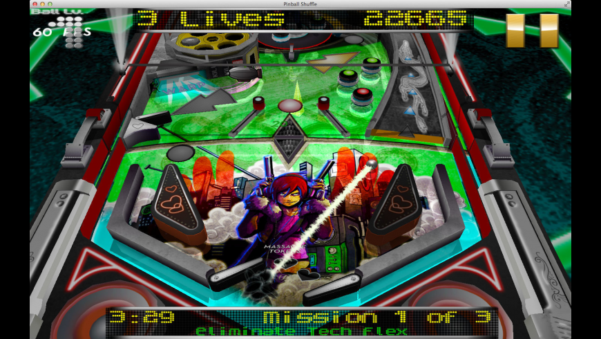 Pinball Shuffle for Mac - review, screenshots