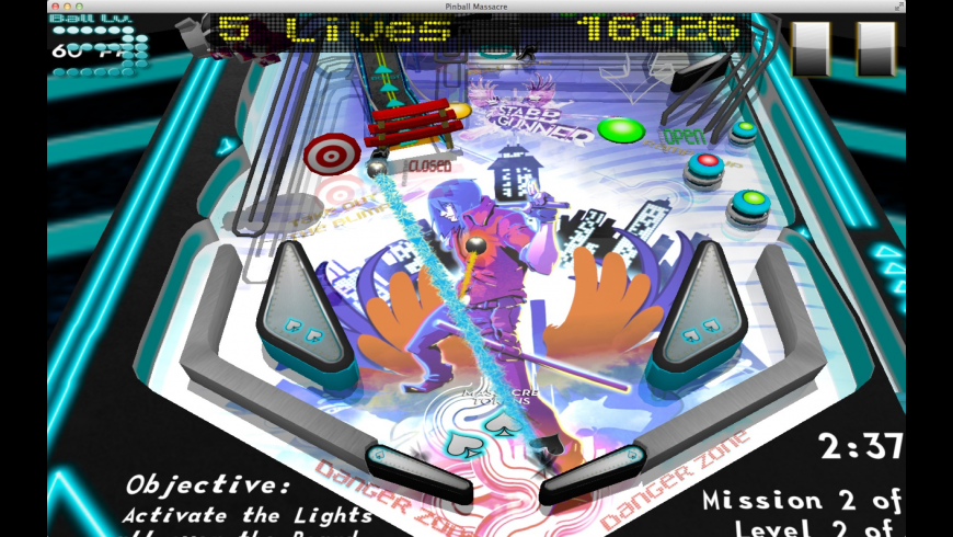 Pinball Massacre for Mac - review, screenshots