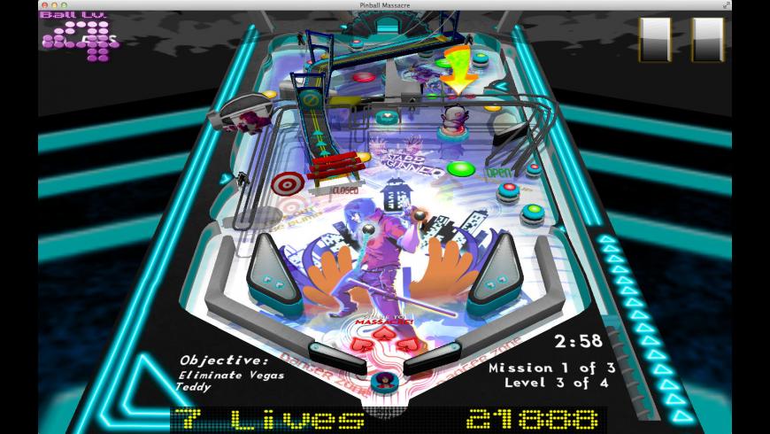 Pinball Massacre for Mac - review, screenshots
