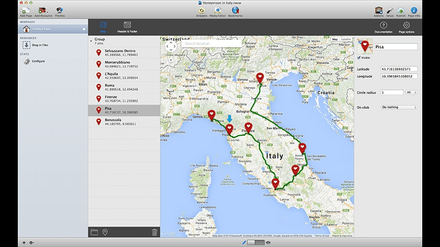 RapidMaps for Mac - review, screenshots