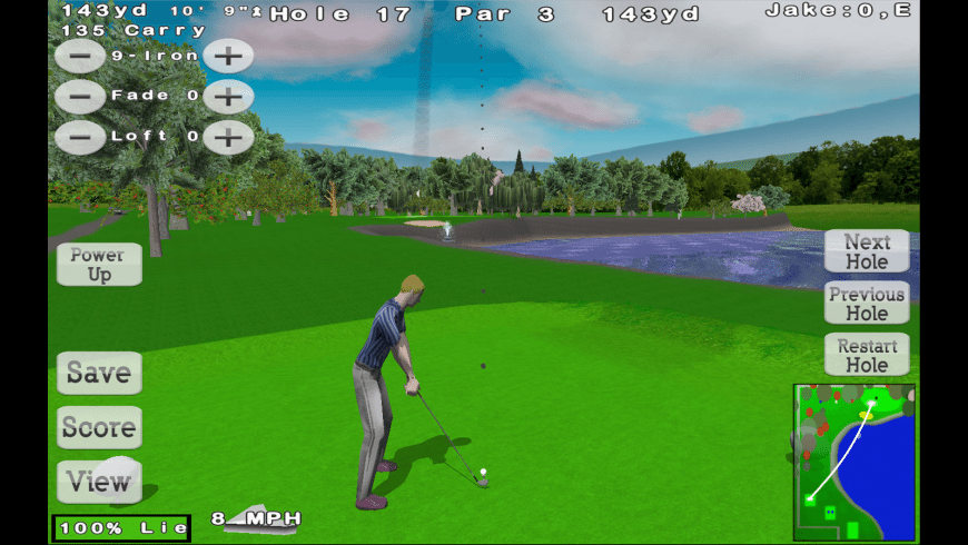 Nova Golf for Mac - review, screenshots