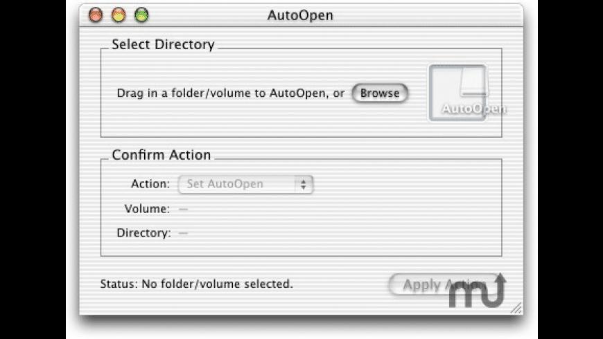 Auto Open X for Mac - review, screenshots
