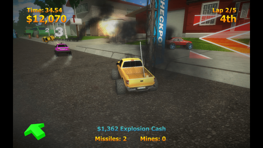 RC Mini Racers for Mac - review, screenshots