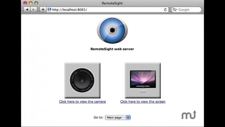 RemoteSight for Mac - review, screenshots