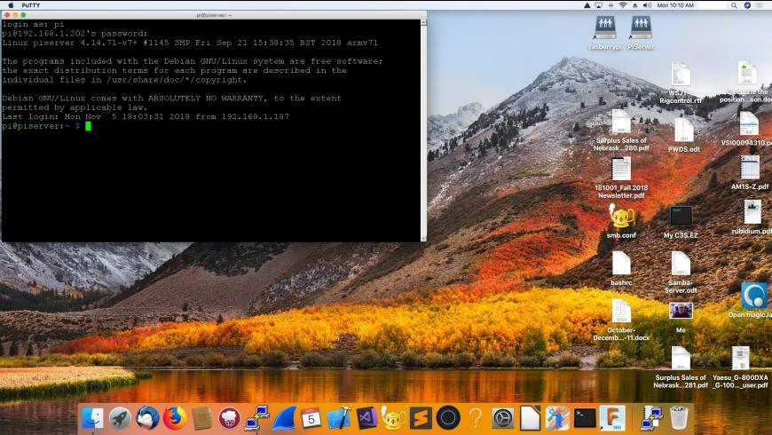 Putty for Mac - review, screenshots