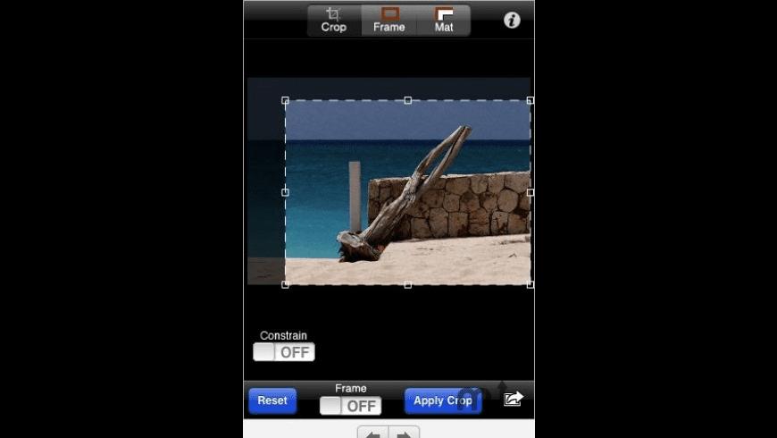 Crop'n'Frame for Mac - review, screenshots