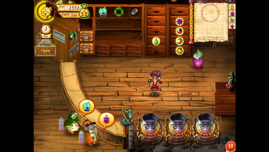 Mystic Emporium for Mac - review, screenshots