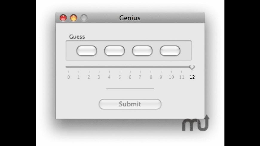 Genius for Mac - review, screenshots