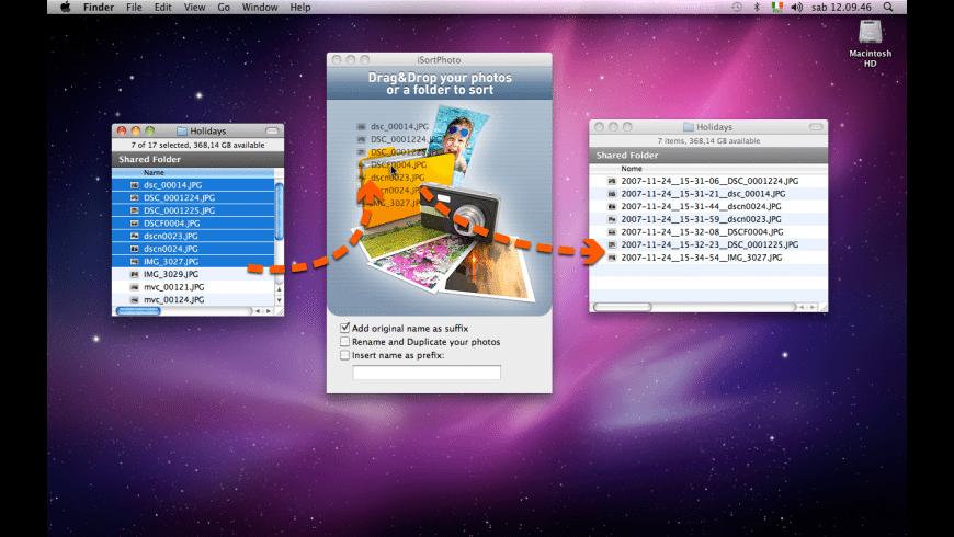 iSortPhoto for Mac - review, screenshots