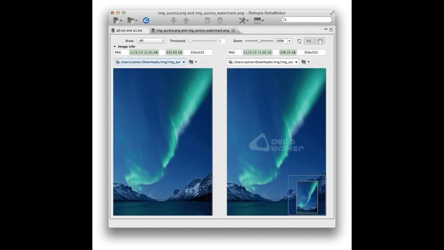 DeltaWalker Oro for Mac - review, screenshots
