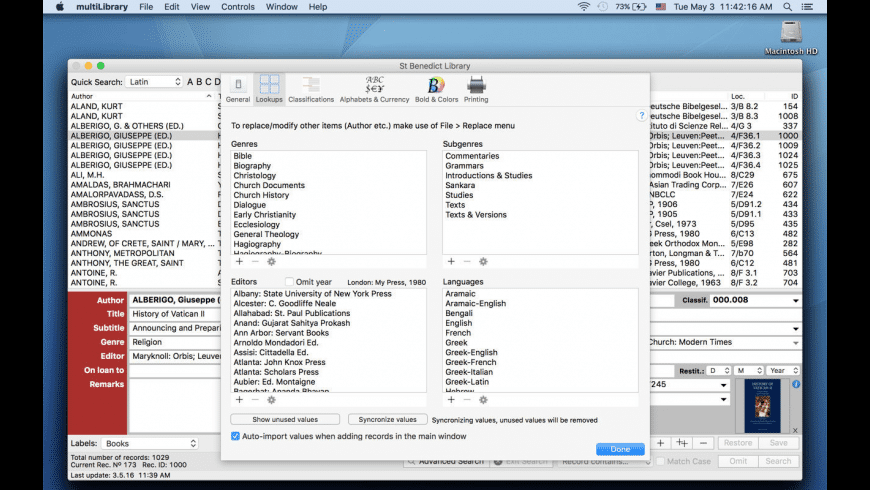 multiLibrary for Mac - review, screenshots