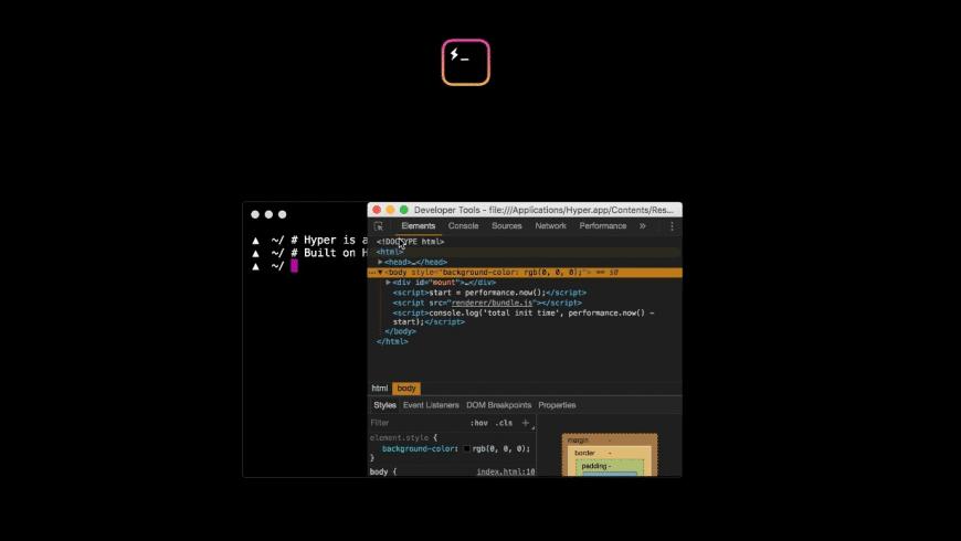Hyper for Mac - review, screenshots