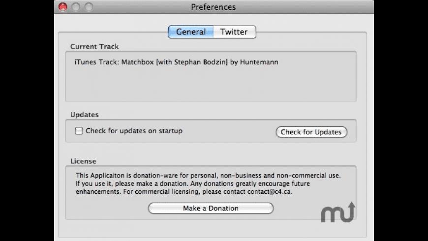 ituwitter for Mac - review, screenshots