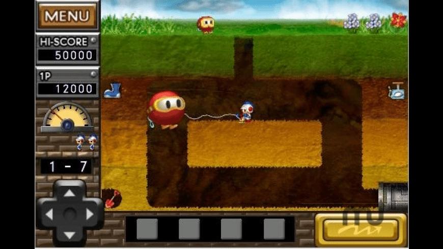 Dig Dug REMIX for Mac - review, screenshots