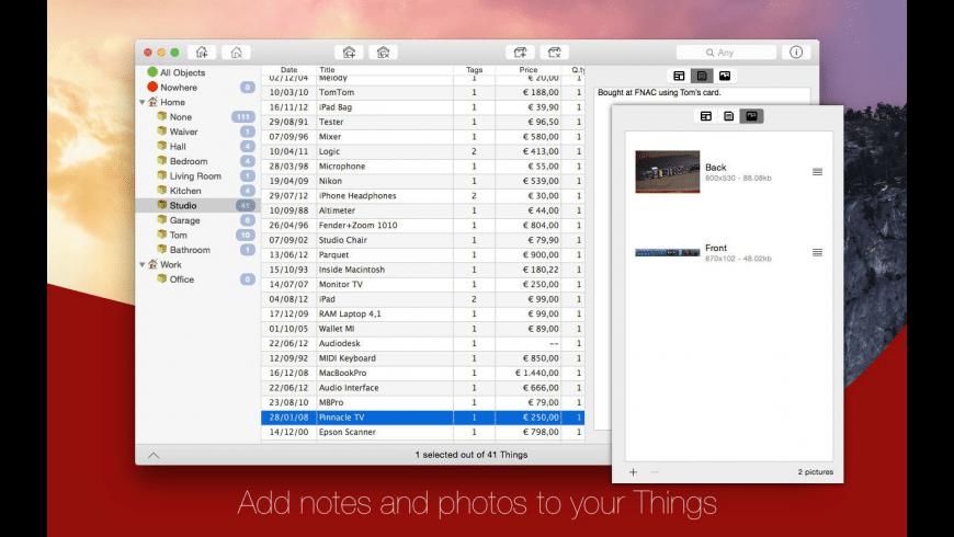 InerziaThings for Mac - review, screenshots