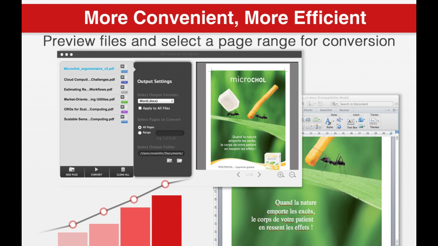 PDF Converter Pro Edition for Mac - review, screenshots