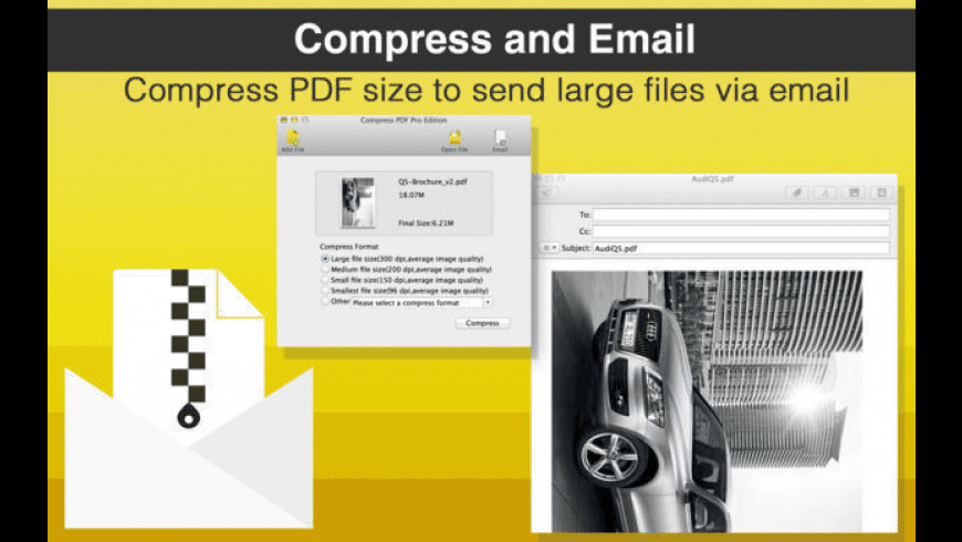 Compress PDF Pro Edition for Mac - review, screenshots