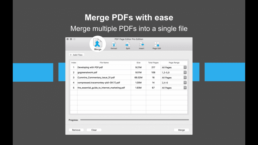 PDF Page Editor Pro Edition for Mac - review, screenshots