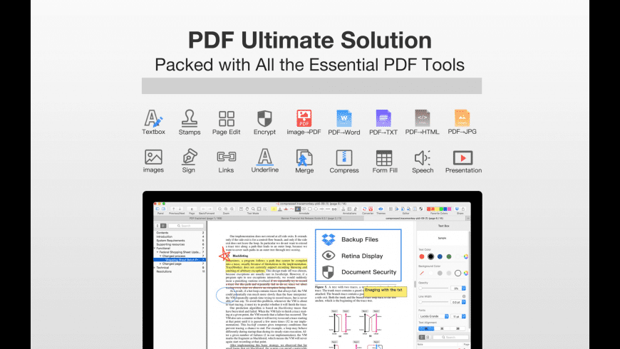 PDF Professional Suite for Mac - review, screenshots