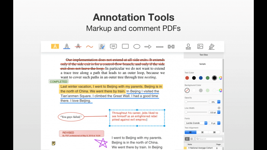 PDF Professional Suite for Mac - review, screenshots