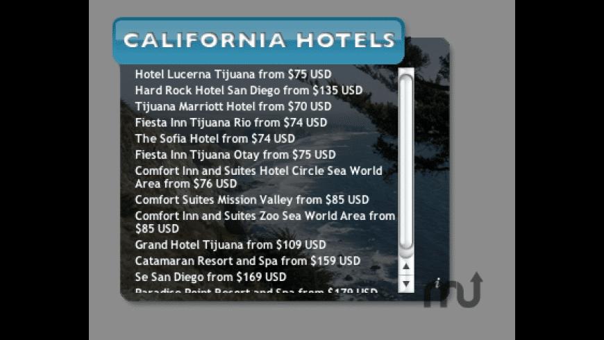 California Hotels for Mac - review, screenshots