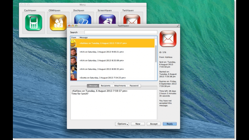 TwitHaven for Mac - review, screenshots