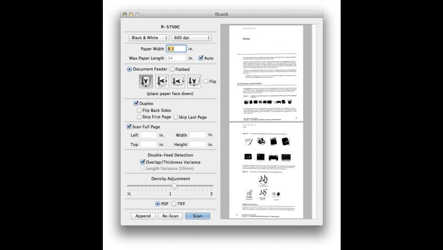 fScanX for Mac - review, screenshots