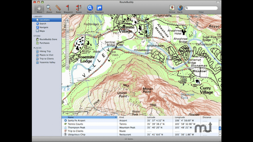 RouteBuddy for Mac - review, screenshots