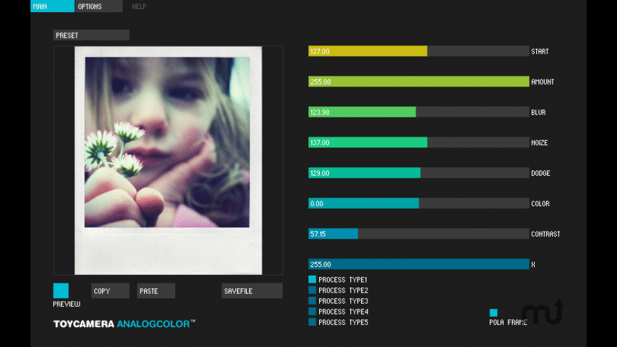 Toycamera AnalogColor for Mac - review, screenshots