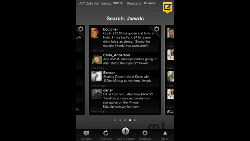 TweetDeck for Mac - review, screenshots