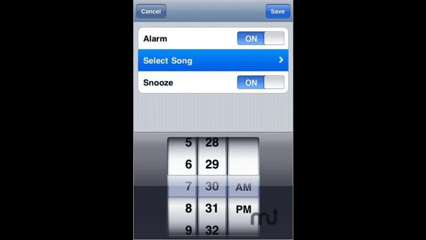 Music Alarm Clock for Mac - review, screenshots