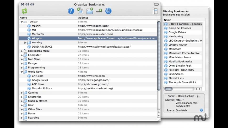 Bookit for Mac - review, screenshots