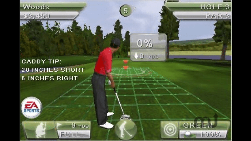Tiger Woods PGA TOUR for Mac - review, screenshots