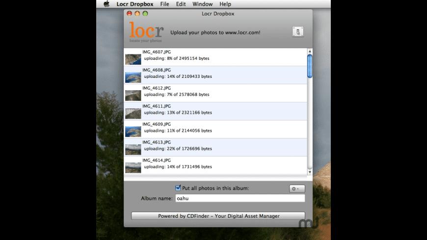 Locr DropBox for Mac - review, screenshots