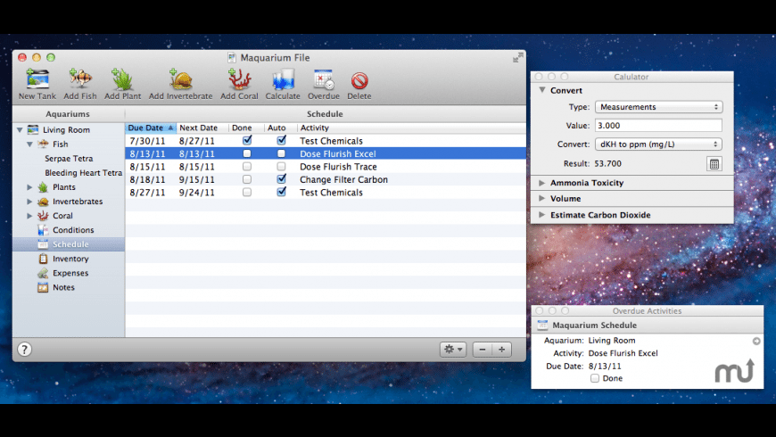 Maquarium for Mac - review, screenshots