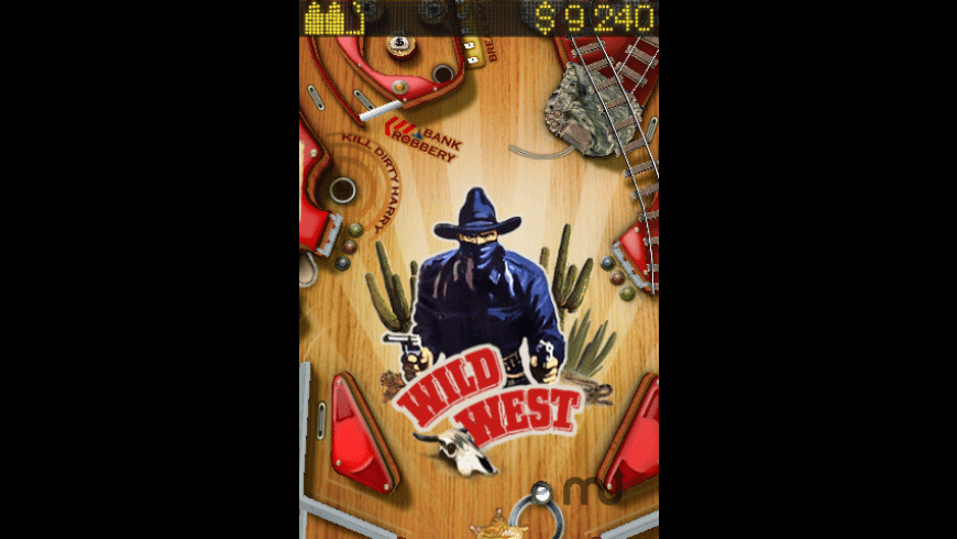 Wild West Pinball for Mac - review, screenshots