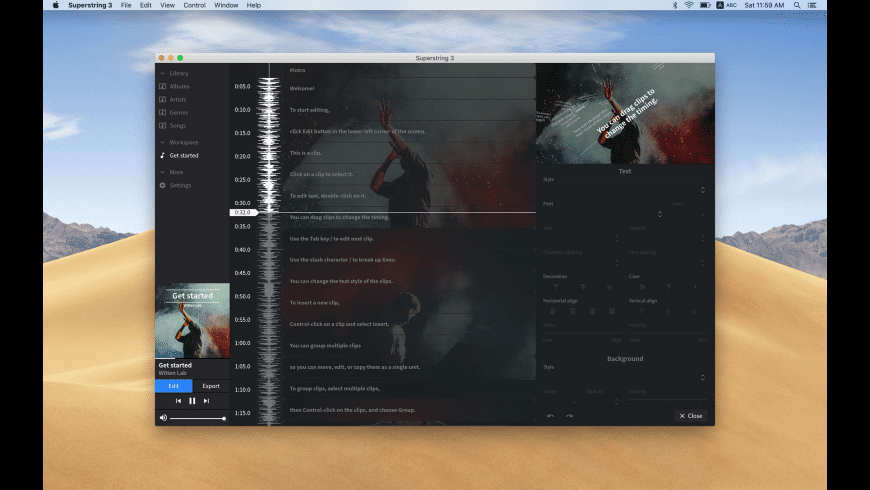 Superstring Pro for Mac - review, screenshots