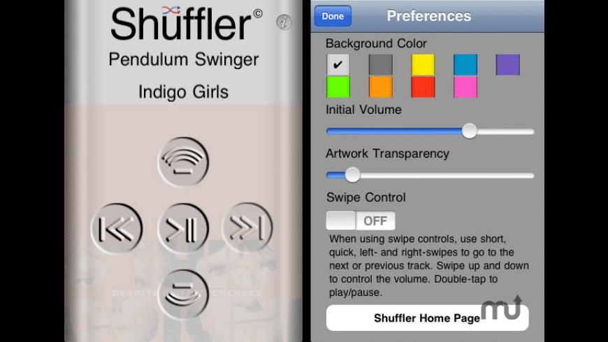 Shuffler for Mac - review, screenshots