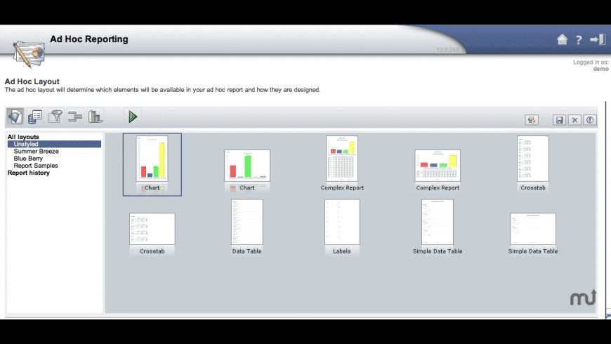 i-net Clear Reports Designer for Mac - review, screenshots